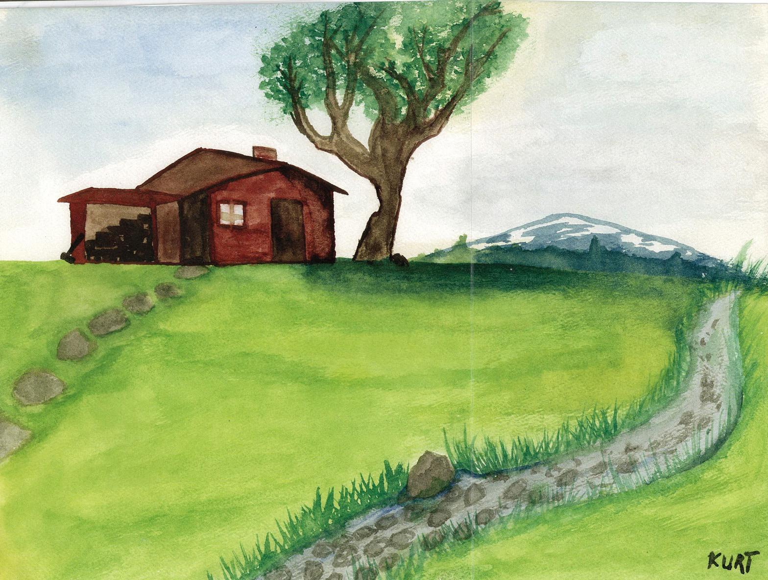 LIVE NIRVANA GUIDE TO KURT COBAINS ART Paintings