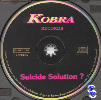 the suicide solution Lyrics to suicide solution by ozzy osbourne: wine is fine but whiskey's quicker / suicide is slow with liquor / take a bottle, drown your.