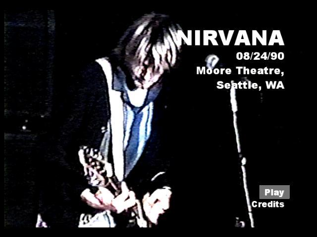 Nirvana love buzz live in austria 1989 - 5 6