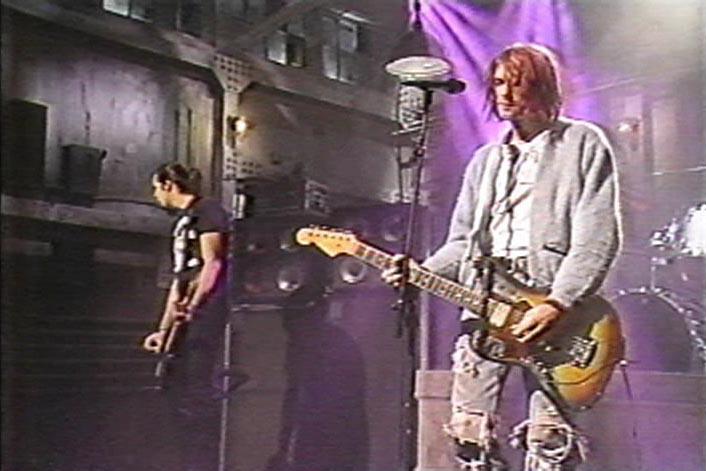 Live Nirvana | Live Nirvana DVD Guide | 01/11/92 - NBC ...